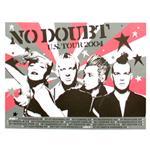 [正規店直輸入] No Doubt(ノー・ダウト)2004 US Tour Poster グッズマート