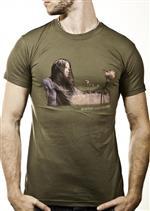 [正規店直輸入] Alanis Morissette(アラニス・モリセット)Landscape Olive T-Shirt Guys グッズマート<img class='new_mark_img2' src='//img.shop-pro.jp/img/new/icons8.gif' style='border:none;display:inline;margin:0px;padding:0px;width:auto;' />