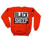 [正規店直輸入] Black Sheep(ブラック・シープ)Logo Crew on Red グッズマート