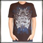 [正規店直輸入] Charm City Devils Men's Black Logo T-Shirt (size:Large) グッズマート