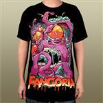 [正規店直輸入] Fangoria(ファンゴリア)Purple Octopus Men's Tee グッズマート