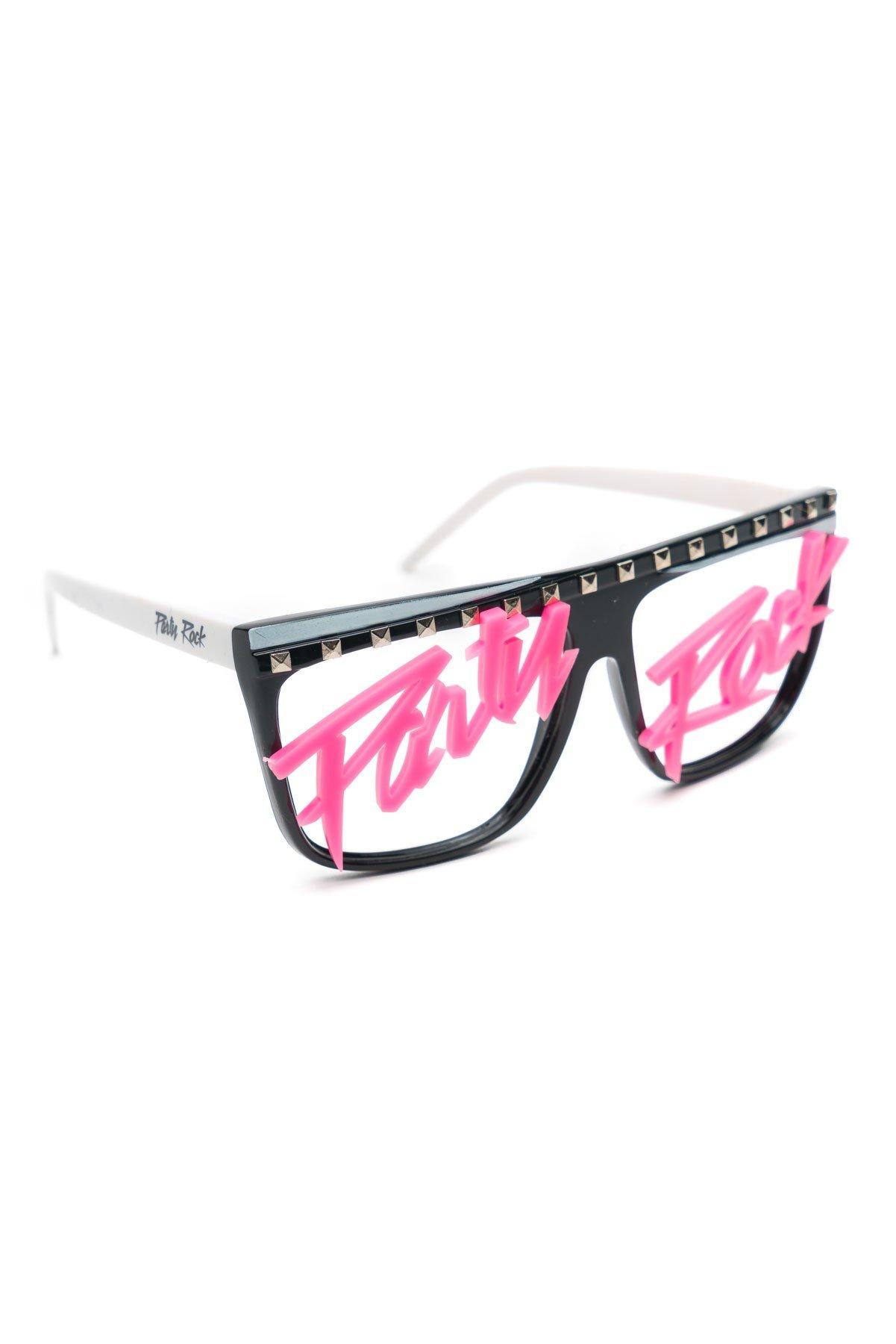 Party Rock Clothing★パーティーロッククロッシング ★Party Rock Words Glasses (ブラック/ピンク)