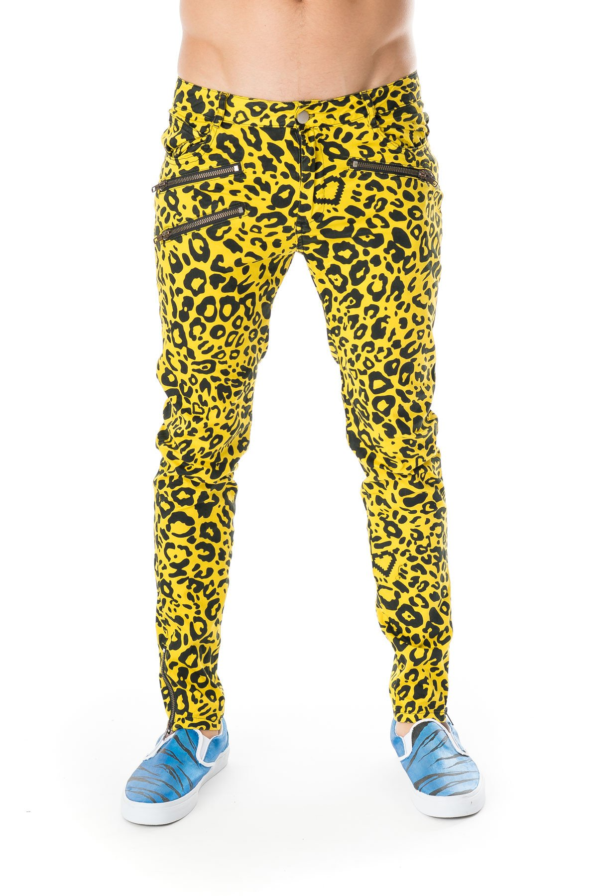 Party Rock Clothing★パーティーロッククロッシング ★Party Rock Cheetah Pants(イエロー)