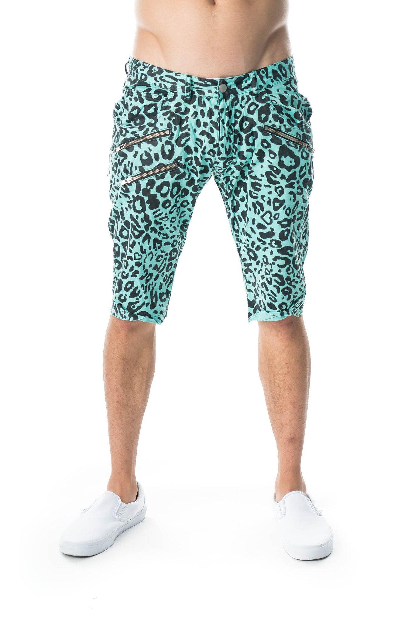 Party Rock Clothing★パーティーロッククロッシング ★La Freak Cheetah Huck Finns(アクアマリーン)