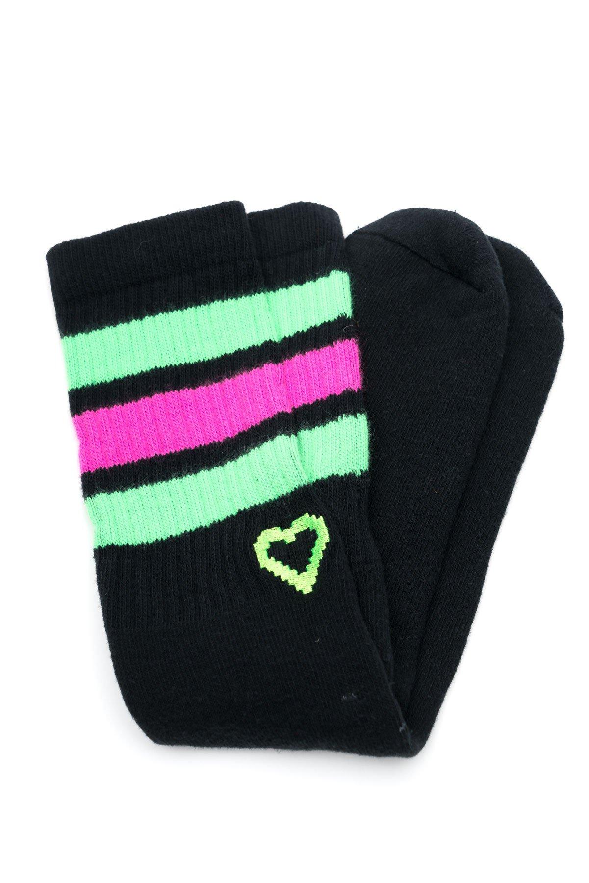 Party Rock Clothing★パーティーロッククロッシング ★Party Rock Tennis Socks (ブラック)