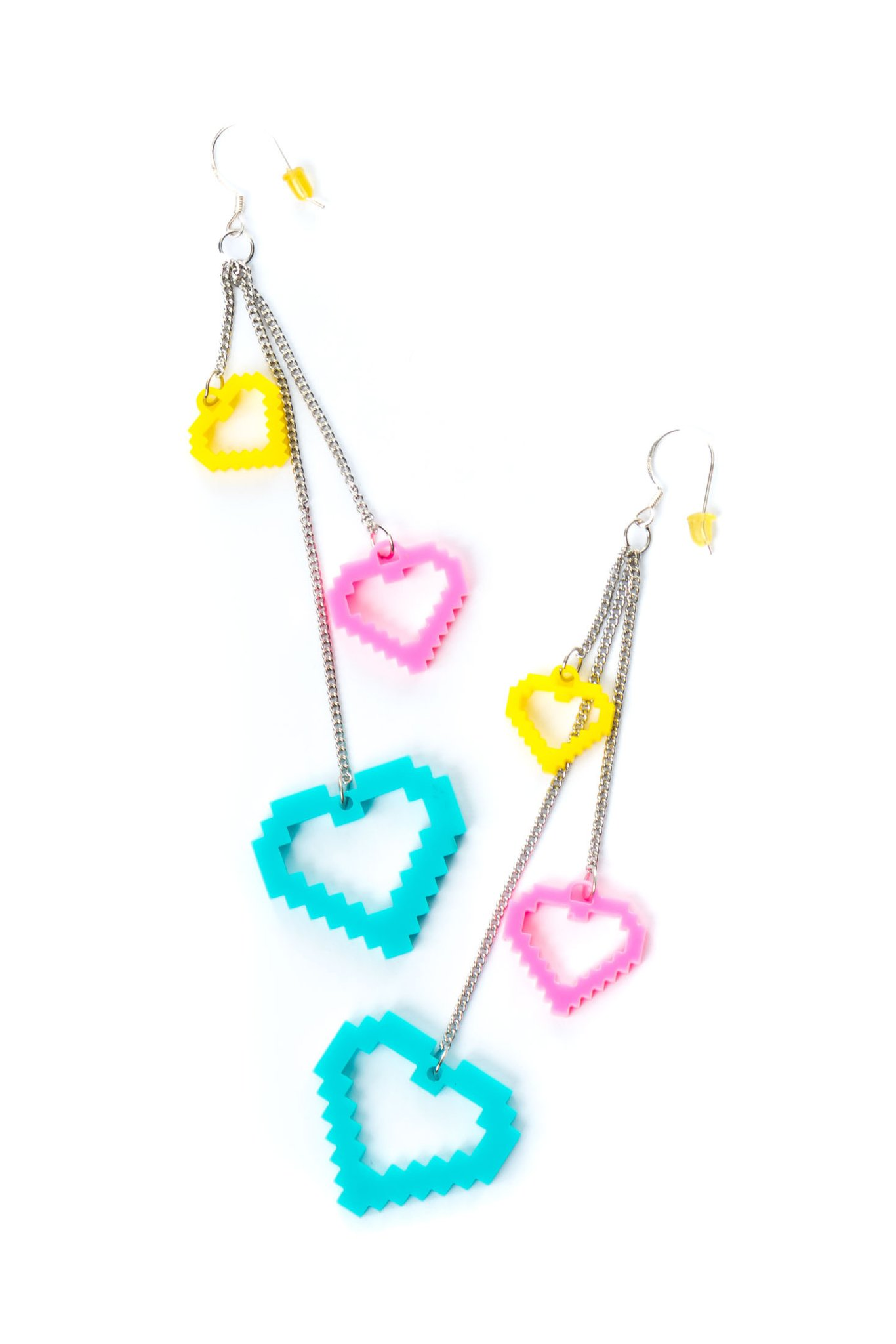 Party Rock Clothing★パーティーロッククロッシング ★Party Rock Heart Dangle イヤリング