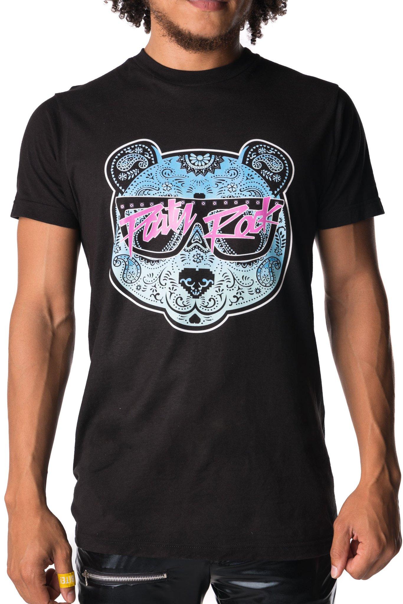 Party Rock Clothing★パーティーロッククロッシング ★Party Rock Panda T-Shirt