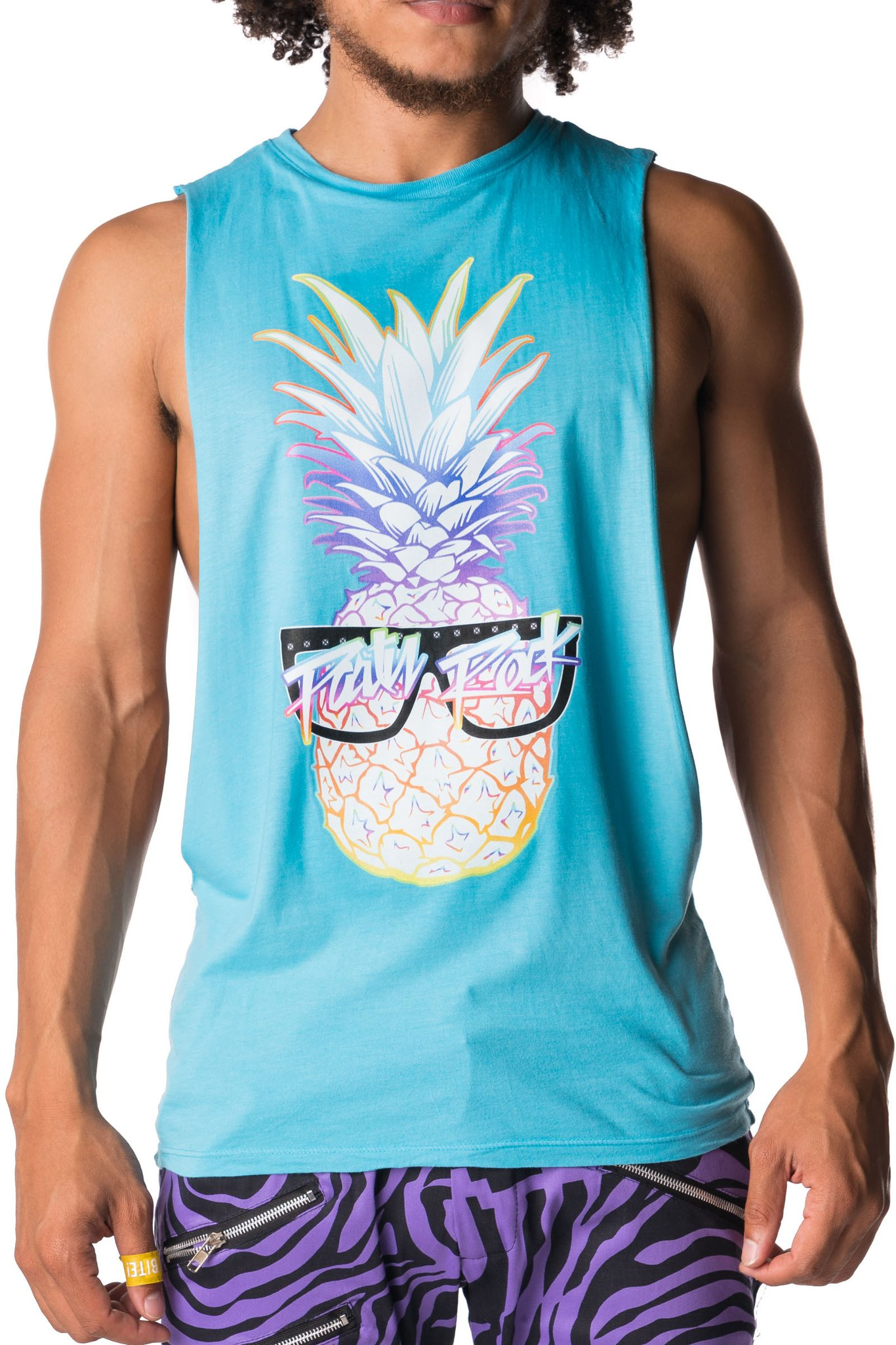 Party Rock Clothing★パーティーロッククロッシング ★Party Rock Pineapple Pool Boy (ブルー)