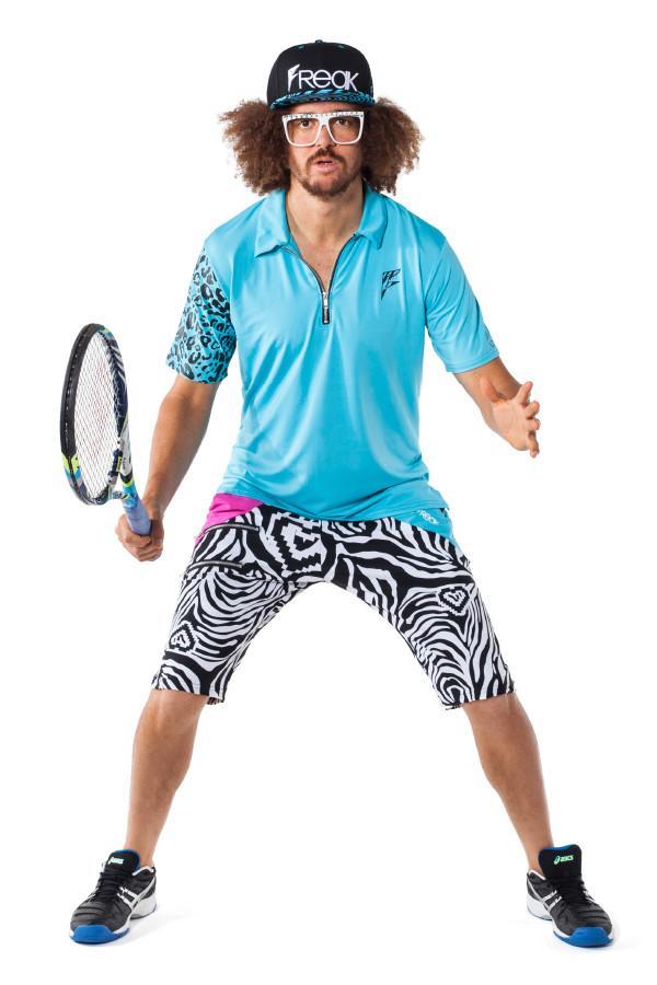 Party Rock Clothing★パーティーロッククロッシング ★La Freak Athletic Polo Solids (ブルー)