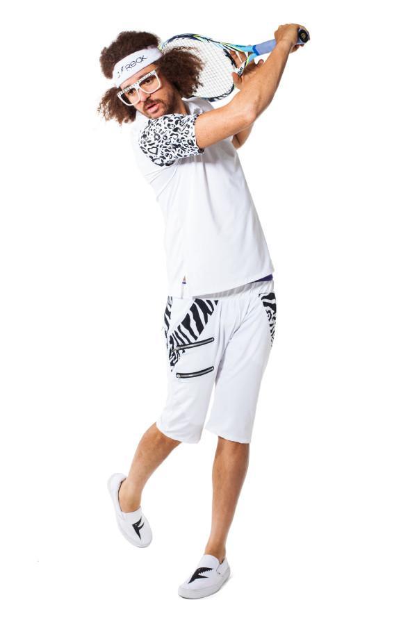 Party Rock Clothing★パーティーロッククロッシング ★La Freak Athletic Polo Solids (ホワイト)