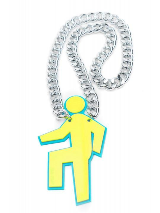 Party Rock Clothing★パーティーロッククロッシング ★Party Rock Shuffler Chain (イエロー)