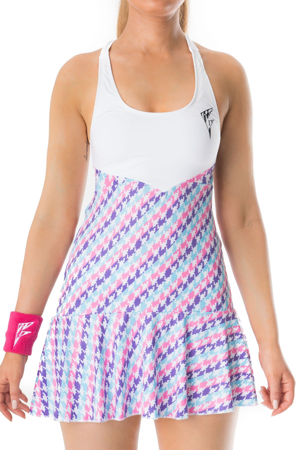 Party Rock Clothing★パーティーロッククロッシング ★Party Rock Tennis Dress (ピンク・パープル)