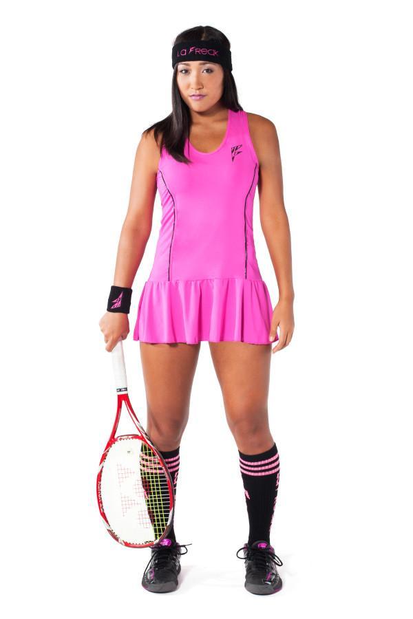 Party Rock Clothing★パーティーロッククロッシング ★La Freak Tennis Dress - La Freak (ピンク)