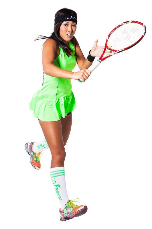 Party Rock Clothing★パーティーロッククロッシング ★La Freak Tennis Dress - La Freak (ライム)