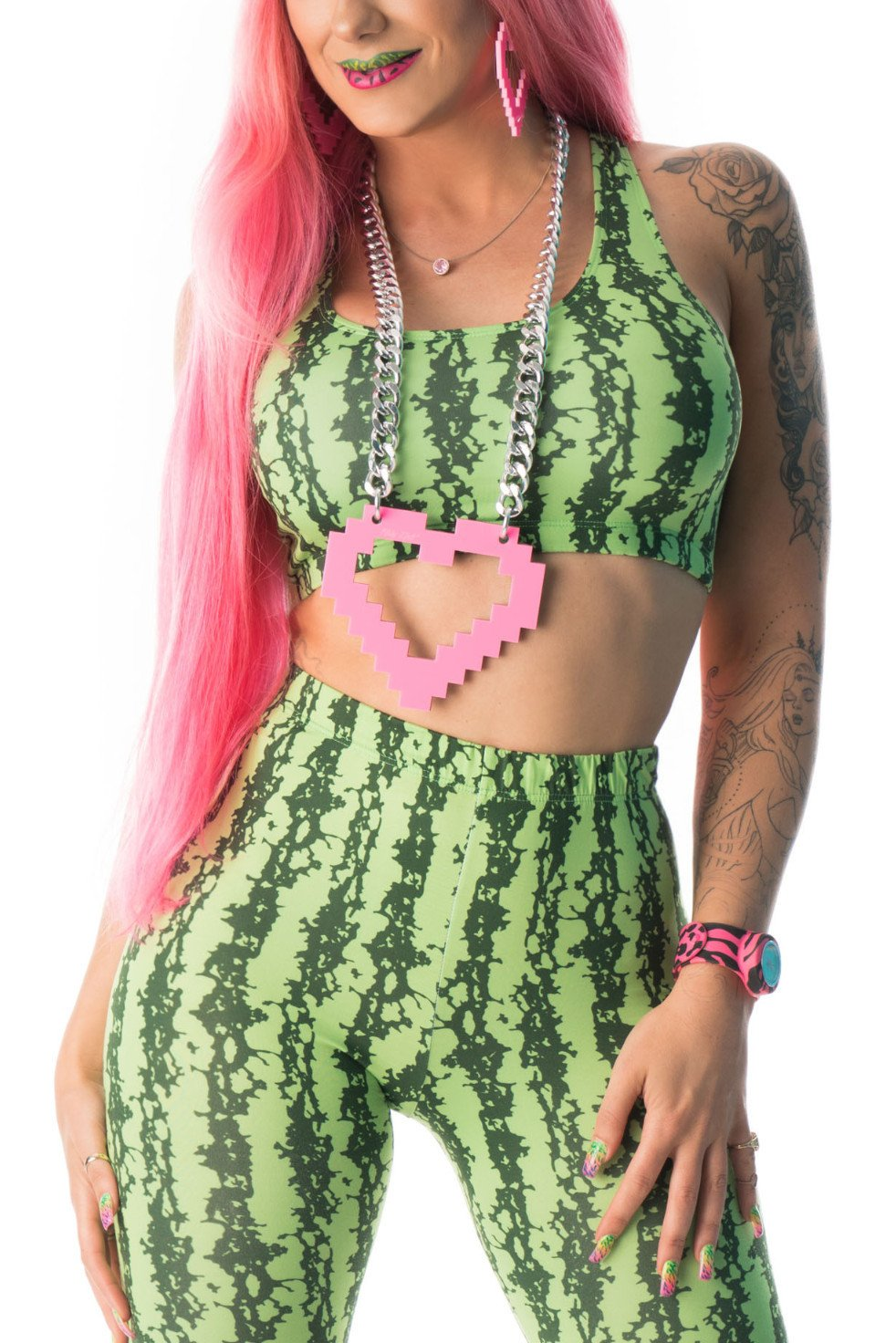 Party Rock Clothing★パーティーロッククロッシング ★Party Rock Watermelon Girl Costume スーパーセット