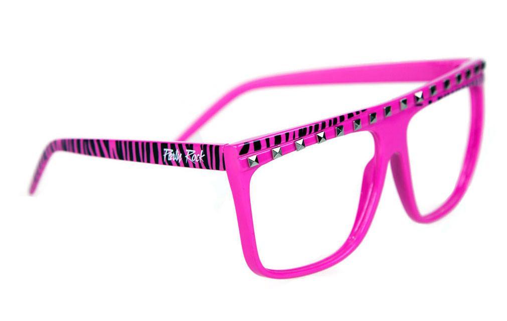 Party Rock Clothing★パーティーロッククロッシング ★PARTY ROCK FRAMES サングラス ピンク・ブラックゼブラ