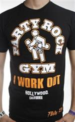 Party Rock Clothing★パーティーロッククロッシング ★LMFAO   Party Rock Gym (B/O)Tシャツ