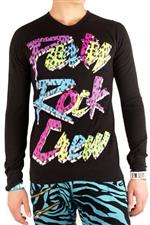 Party Rock Clothing★PARTY ROCK CREW THERMAL ブラック/マルチ