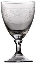 Tipperary Crystal(ティペラリー・クリスタル) Set 4 Short Stem Wine Glass Delicate Vine