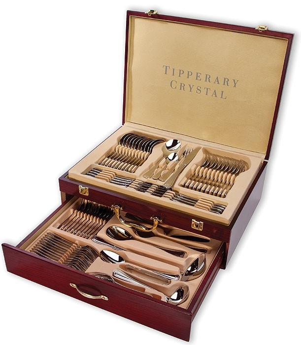 Tipperary Crystal(ティペラリー・クリスタル)  Elegance 72 Pc Cutlery Canteen