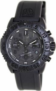 [ルミノックス]Luminox  Colormark 3080 Chrono Series Silicone Watch Black LUMINOX-3081-BO