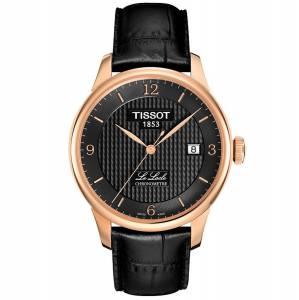 [ティソ]Tissot  Le Locle Analog Display Swiss Automatic Black Watch TIST0064083605700 メンズ