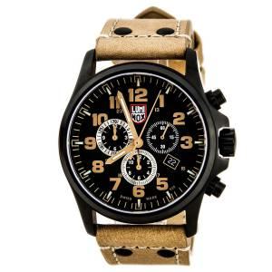 [ルミノックス]Luminox 腕時計 Atacama Analog Display Quartz Brown Watch A.1945 メンズ