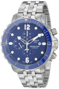 [ティソ]Tissot 腕時計 Seastar Watch Blue Dial Automatic Movement T0664271104702 メンズ