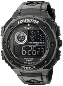 [タイメックス]Timex 腕時計 Expedition Vibe Shock Watch with Black Band T499839J メンズ