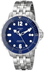 [ティソ]Tissot  Seastar Analog Display Swiss Automatic Silver Watch T0664071104702 メンズ