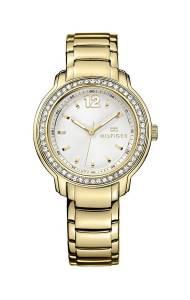 [トミー ヒルフィガー]Tommy Hilfiger 腕時計 Silver Dial Goldtone Watch 1781467