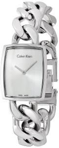 [カルバン クライン]Calvin Klein Swiss Amaze Stainless Steel Link Bracelet Watch K5D2S126
