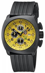 [ルミノックス]Luminox  Land Tony Kanaan Chronograph Yellow Dial Rubber Strap Watch 1105.S