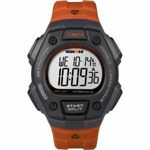 [タイメックス]Timex 腕時計 Ironman Classic 50Lap FullSize Watch Black/Orange TW5K86200