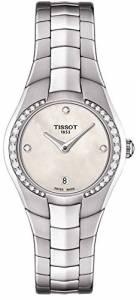 [ティソ]Tissot 腕時計 TRound Cream Dial Stainless Steel Watch T0960096111600 [並行輸入品]