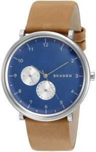 [スカーゲン]Skagen 腕時計 Hald Analog Display Analog Quartz Brown Watch SKW6167 メンズ