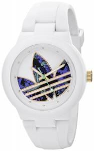 [アディダス]adidas  Aberdeen White Stainless Steel Watch with Polyurethane Band ADH3018