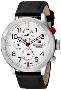 [トミー ヒルフィガー]Tommy Hilfiger  Cool Sport Analog Display Quartz Black Watch 1791138