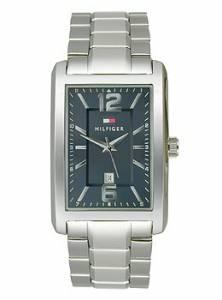 [トミー ヒルフィガー]Tommy Hilfiger  ThreeHand SilverTone Stainless Steel watch # 1791075