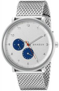 [スカーゲン]Skagen 腕時計 Stainless Steel Wash with Mesh Bracelet SKW6187 メンズ