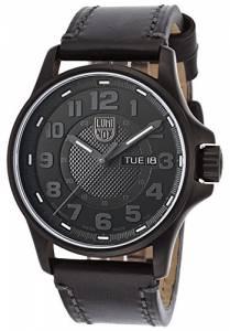 [ルミノックス]Luminox 1801BO 1800 Series Automatic Black Genuine Leather Black LUMINOX-1801-BO