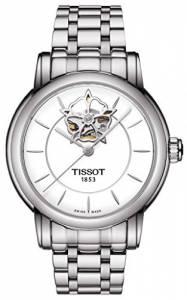 [ティソ]Tissot 腕時計 Lady Heart Automatic White Dial Stainless Steel Watch T0502071101104