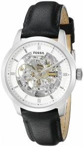[フォッシル]Fossil 腕時計 Townsman Automatic Leather Watch Black ME3085 メンズ
