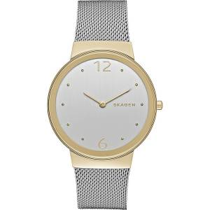 [スカーゲン]Skagen  Freyja Analog Display Analog Quartz Silver Watch SKW2381 レディース