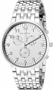 [スカーゲン]Skagen  Anchor Analog Display Analog Quartz Silver Watch SKW6231 メンズ