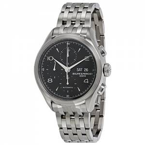 [ボーム&メルシエ]Baume & Mercier Baume et Mercier Clifton Chronograph Black Dial MOA10212