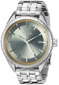 [ニクソン]NIXON  Minx Analog Display Swiss Quartz Silver Watch A9342162 レディース
