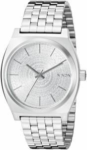 [ニクソン]NIXON  Time Teller Analog Display Japanese Quartz Silver Watch A0452129 メンズ