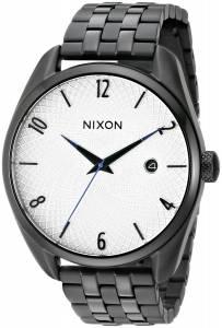 [ニクソン]NIXON  Bullet Analog Display Japanese Quartz Black Watch A418180 レディース