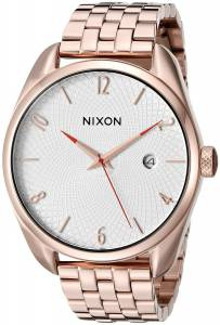 [ニクソン]NIXON 腕時計 Bullet Rose GoldTone Watch A4182183 レディース [並行輸入品]